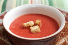 Tomato Soup | Make Ahead Meals For Busy Moms