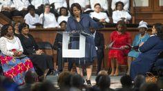 Bernice King llama a seguir luchando por la visión de su padre Martin Luther King Jr.