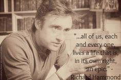 Richard Hammond. I love the Hamster!