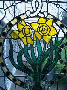 Hand Made Stained Glass Panel - Residential by Cathedral Stained Glass Studios, Inc. | CustomMade.com