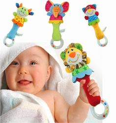 Baby Animal Rattle Toy - Sloan's Shop Unique Clothing & Toys for Boys and Girls
