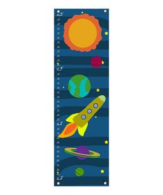 Take a look at this Solar System Growth Chart by Green Leaf Art on #zulily today!