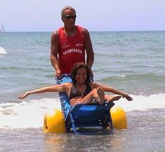 Joy on the Beach Wheelchair available for purchase from Special Needs Group. www.specialneedsg...