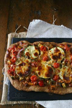 Ratatouille Pizza by Nutmeg Nanny
