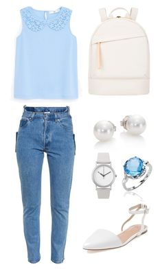 """School #1"" by midori394 on Polyvore"
