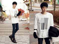 Park Tae Jun Ulzzang Fashion Asian Men's Fashion Korean Fashion