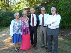 5 of us 7: Mary, Ruth,Phil, Paul, & me at Phil's daughter Kaitlyn's wedding near Victoria.