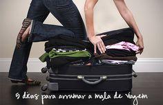 5 dicas para arrumar a mala de viagem