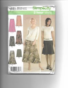 Simplicity 4881 by CraftingMoose on Etsy