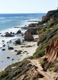 Paradise has been found at El Matador Beach. Hidden away in Malibu, CA, its caves and coves and giant rock formations seem like they belong to another world.