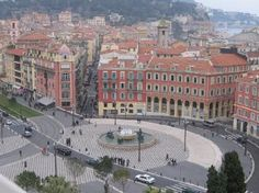 France-Nice: Place Massena, great shopping and restaurants