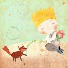 The Little Prince by Laura di Francesco