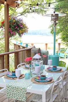 House of Turquoise: My Deck Makeover Reveal!