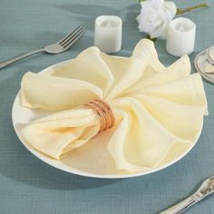 Compliment your party table decorations with the timeless charm of faux burlap napkins from Leilani Wholesale!