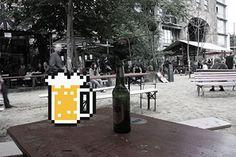 Bière en réalité augmentée