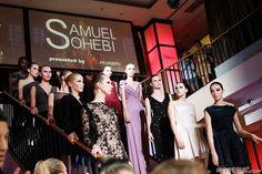 Der inzwischen als Mode-Designer tätige Stylist Samuel Sohebi stellte seine aktuelle und erste Kollektion im Rahmen der Huawei Fashion Night am 21. Januar