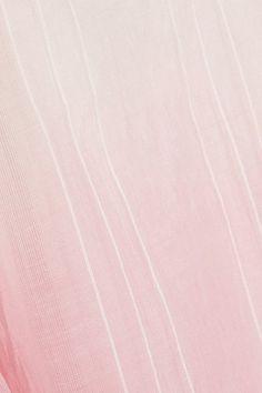 LemLem - Berhan Embroidered Dégradé Cotton-gauze Dress - Baby pink - x small