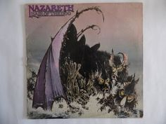 Nazareth, Hair of the Dog vinyl record by theposterposter on Etsy