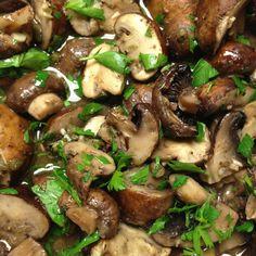 Mmmmushrooms! by @Elizabeth_Silbermann   Recipe by smittenkitchen http://tinyurl.com/2fgr8z5