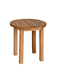 Three Birds Casual Canterbury Tall Round Side Table Teak -- Find out more by clicking the VISIT button Outdoor End Tables, Patio Side Table, Round Side Table, Patio Dining, Side Tables, Outdoor Dining, Dining Set For Sale, Dining Sets, Madeira Natural