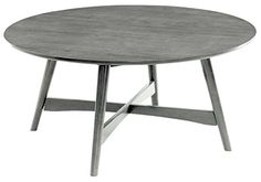 Furniture of America Galleano Round Top Coffee Table