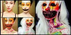 Les maquillages effrayants de Stephanie Fernandez - http://www.2tout2rien.fr/les-maquillages-effrayants-de-stephanie-fernandez/