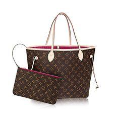 306e50e7af55 Louis Vuitton Monogram Canvas Pivoine Neverfull MM M41178 Hermes Handbags