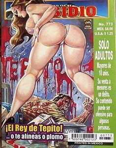 """Mexican True Crime Comic Series """"Relatos de Presidio"""" #773 - """"El Rey del Tepito"""" by Editorial Toukan http://www.amazon.com/dp/B00LZ8Z8A8/ref=cm_sw_r_pi_dp_jorEvb018BT4G"""