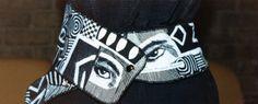 Cheryl Bridgart's freehand embroidered belt
