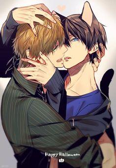 Sasuke__Uchihaによるゲストブック - Shounen-Ai and Yaoi Romance Hot Anime Boy, Cute Anime Guys, Cute Anime Couples, Dark Anime Guys, Neko, Sasuke Uchiha, Disney Marvel, Haru And Makoto, Free Makoto