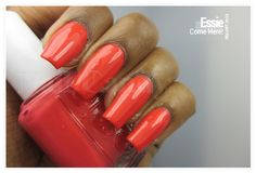 Essie In The Cab-ana Resort 2013 nail polish collection in Come Here!
