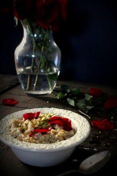 Oatgasm- Rosewater, Honey, Pistachio Oatmeal
