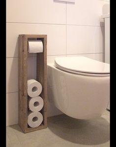 **Toilettenpapierhalter, Toilettenpapierständer, Klopapierhalter, H/B/T  65/16