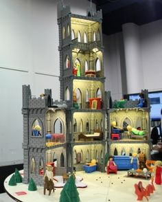 Let your imagination run wild with a #MakerBot fairytale castle, made with a #3Dprinter.