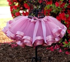 I've seen a lot of handmade tutus, but I've never seen one like this! So beautiful.