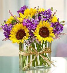 Creative and beautiful box flower arrangement home decor ideas 26