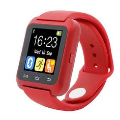 Smart Watches: Bluetooth Smart Wrist Watch Pedometer Smart Tracker For Iphone Lg Samsung Rd BUY IT NOW ONLY: $15.99