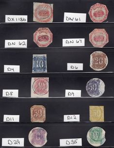 very nice example of state revenue state taxes....US BOB RARE EARLY CALIFORNIA STATE REVENUE TAX STAMPS (12) 1868-1869 Stamp Collecting, Stamps, Bob, California, Nice, Seals, Bob Cuts, Postage Stamps, Nice France