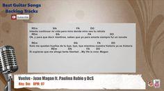 Vuelve - Juan Magan ft. Paulina Rubio, DCS Vocal Backing Track with chor...