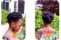 hairstyles for 4c children - Google Search