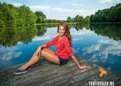 Without a doubt this was my favorite photo from Megan's senior picture… Lake Senior Pictures, Senior Pictures Sports, Poses For Pictures, Senior Photos, Senior Portraits, Girl Pictures, Graduation Picture Poses, Senior Picture Outfits, Autumn Photography