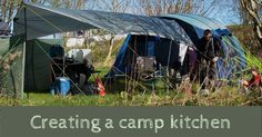 Creating a Camp Kitchen