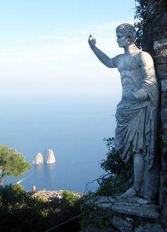 Statue of Emperor Augustus, Capri | Pilise Gabor