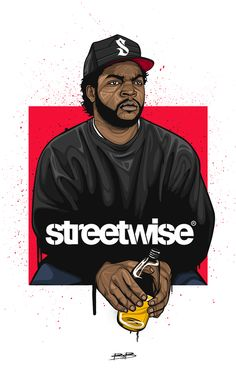 Ice Cube Streetwise on Behance Character work