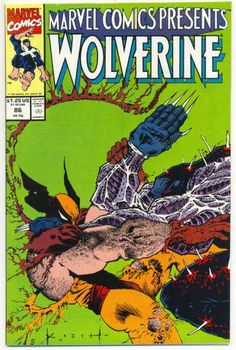 Claws - Comics - Marvel - Presents - Ripping - Sam Kieth