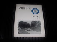 Rare SEPT OCT 1950 SPORTS CAR Magazine SCCA HARD to FIND Issue FREE US SHIPPING