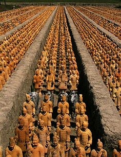 via www.mountainadventures.com Terracotta Army. Xian, China