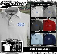 Polo Shirt Ford Logo 1