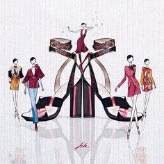 #Gucci #rtw and #shoes all the way  #milan #mfw #shoeporn #ootd #fridagiannini #구찌 #gucciconnect #bagoftheday #vsco #vscocam #vscoart #fashionillustration #패션일러스트 #일러스트 #아트 #스케치  #일러스트레이터 #doodle #igart #fashionary #ilustración #jskillustration #artwork #doodle #illustraton #sketch #fasionart @gucci