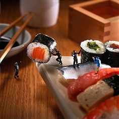 stealth sushi stealing